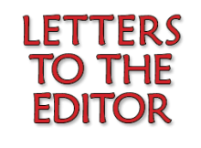 Huckleberry Press Letters to the Editor
