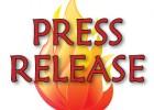 Huckleberry Press Press Release fire