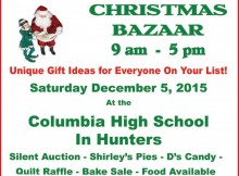 Columbia School Christmas Bazaar 110515 feat