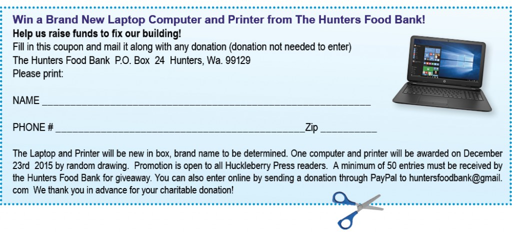 Hunters Food Bank Coupon