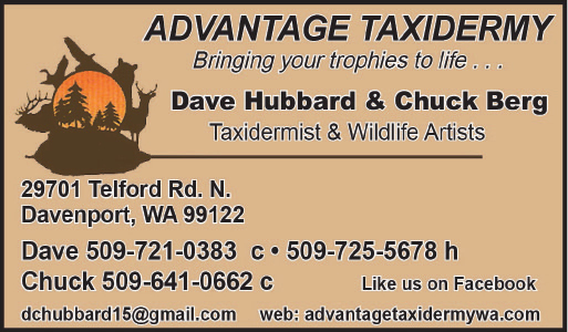 Huckleberry Press Advantage Taxidermy