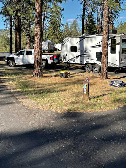 Fort Spokane Campground