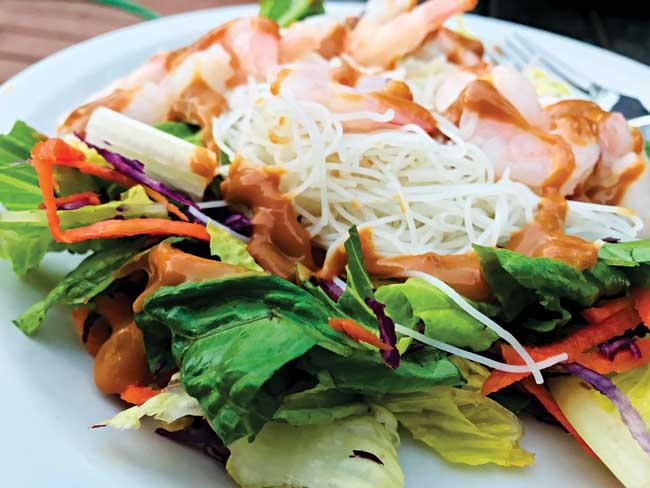 Inside Out Shrimp Fresh Roll