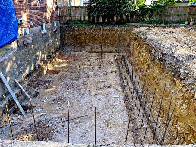 Construction foundation